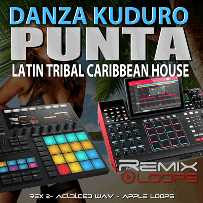 Punta Caribbean House Drum Loops